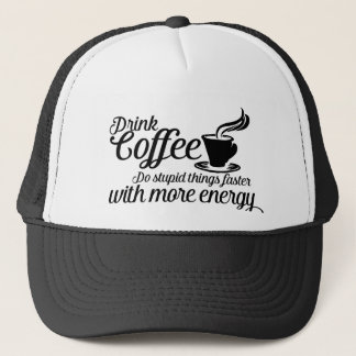 Casquette Drink coffee