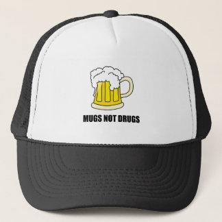 Casquette Drogues de tasses pas