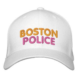 Casquette drôle brodé par police de Boston