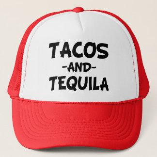 Casquette drôle de camionneur de tacos et de