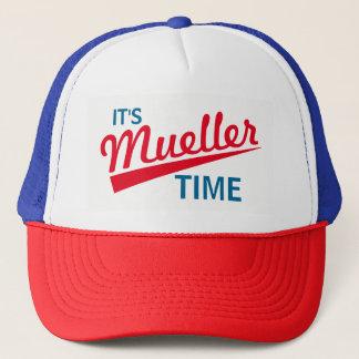 """Casquette Drôle """"il est temps de Mueller """""""