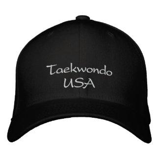 Casquette du Taekwondo Etats-Unis Casquette Brodée