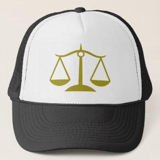 Casquette Échelles de justice - or