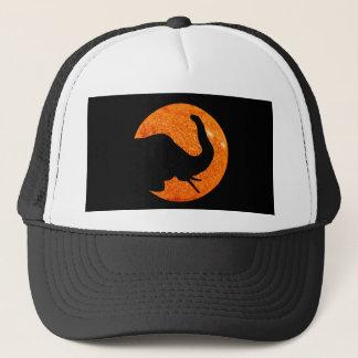 Casquette Éclipse solaire de profil d'éléphant