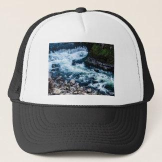 Casquette écoulement du blanc de rivière
