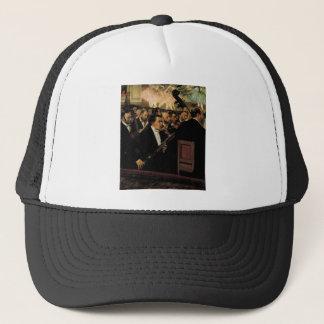 Casquette Edgar Degas - l'orchestre d'opéra - art vintage