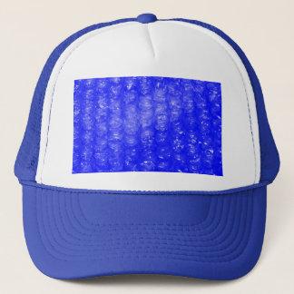 Casquette Effet bleu d'enveloppe de bulle