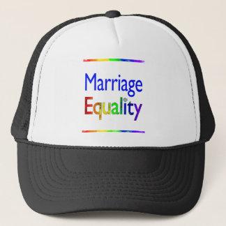 Casquette Égalité de mariage
