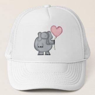 Casquette Éléphant avec le ballon de coeur