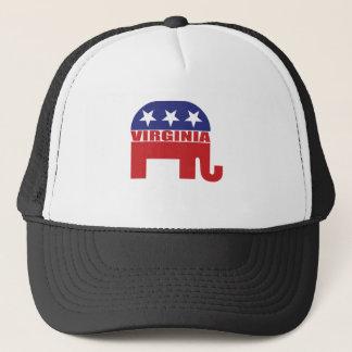 Casquette Éléphant de républicain de la Virginie