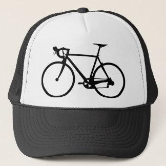 Casquette emballant le vélo - bicyclette de coureur