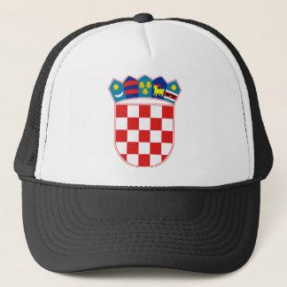 Casquette emblème de la Croatie