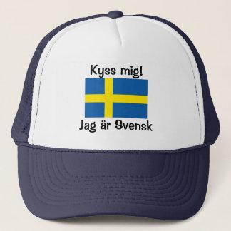 Casquette Embrassez-moi ! Je suis suédois