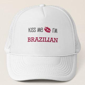Casquette Embrassez-moi que je suis BRÉSILIEN