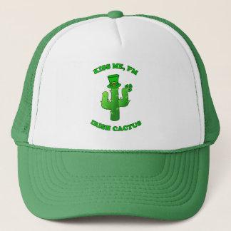 Casquette Embrassez-moi que je suis cactus irlandais avec le