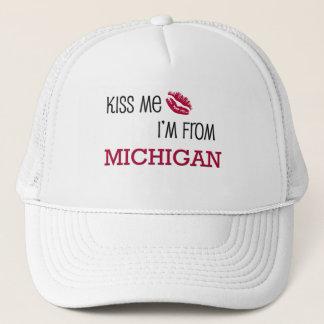 Casquette Embrassez-moi que je suis le MICHIGAN