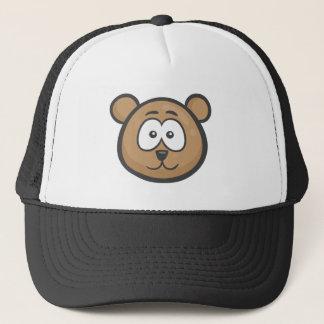 Casquette Emoji : Visage d'ours