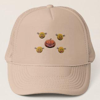 Casquette Émoticône jaune ou smiley de Halloween