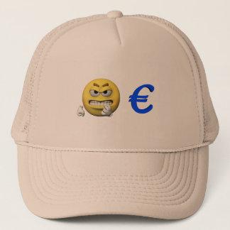 Casquette Émoticône jaune ou smiley et euro