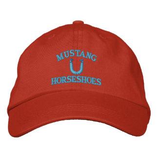 Casquette en fer à cheval fait sur commande de casquette brodée