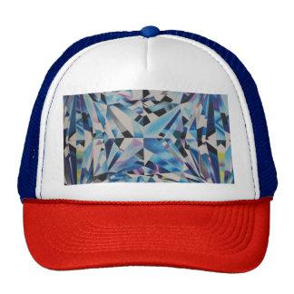 Casquette en verre de casquette de diamant