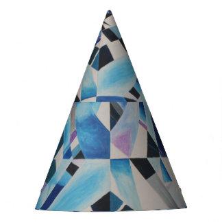Casquette en verre de partie de diamant chapeaux de fètes