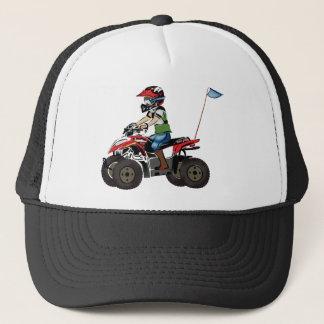 Casquette Enfant rouge et noir d'ATV