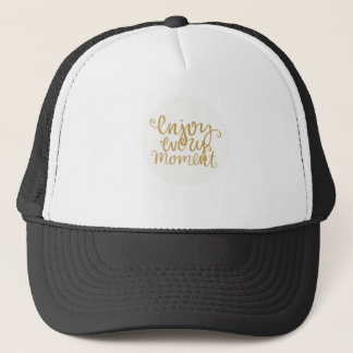 Casquette Enjoy every moment