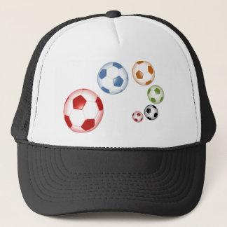 Casquette Ensemble mignon de ballons de football