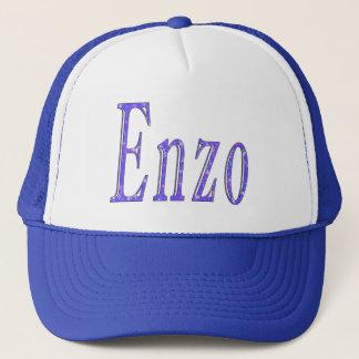 Casquette Enzo, logo nommé,