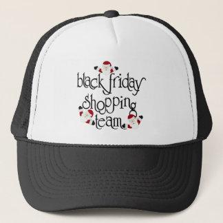 Casquette Équipe noire d'achats de vendredi