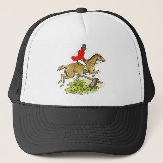 Casquette Équitation de chasseur de pullover de chasse à Fox