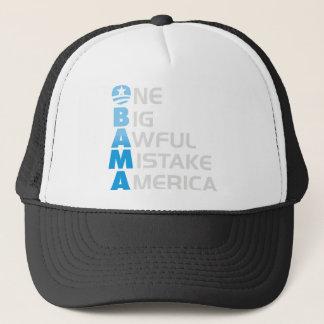 Casquette erreur d'obama