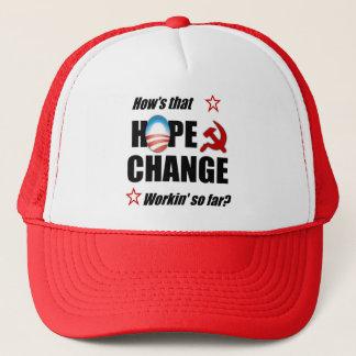 Casquette Espoir et changement ?