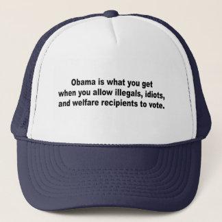 Casquette Est Obama ce que vous obtenez quand