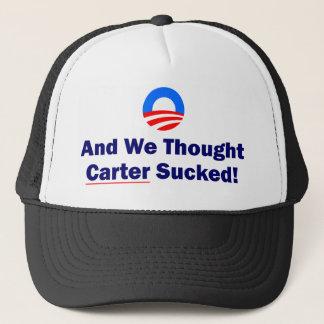 Casquette Et nous avons pensé Carter sucé