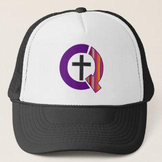 Casquette étrangement chrétien de logo