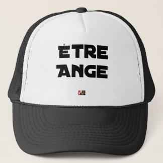 Casquette ÊTRE ANGE - Jeux de mots - Francois Ville