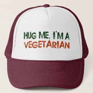 Casquette Étreignez-moi que je suis un végétarien