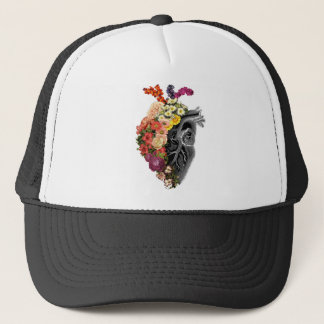 Casquette Étreintes de fleur de coeur