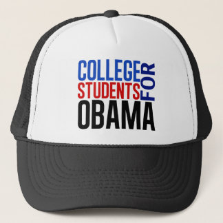Casquette Étudiants universitaires pour Obama
