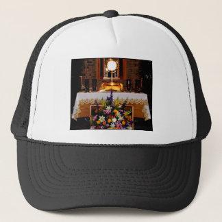 Casquette Eucharistie sainte/sacrement béni