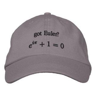 Casquette : Euler obtenu ?