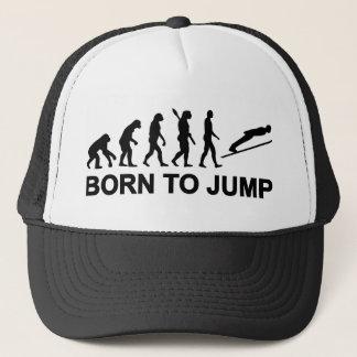 Casquette Évolution soutenue pour sauter sauter de ski
