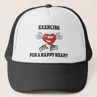 Casquette exercice heart2