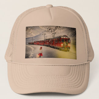 Casquette Express de Pôle Nord - train de Noël - train de