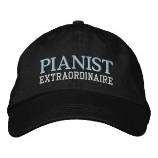Casquette Extraordinaire de pianiste