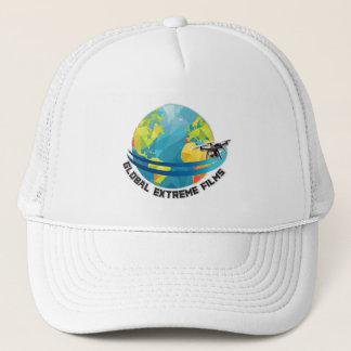 Casquette extrême global de films (logo + Couleur)
