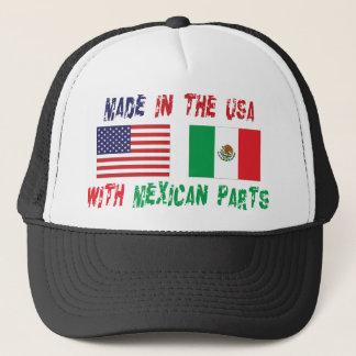 Casquette Fabriqué aux Etats-Unis avec le Mexicain partie la