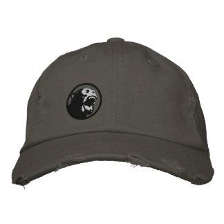 Casquette fâché de Monkee - noir/gris-foncé